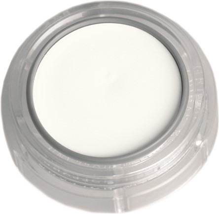 Grimas Creme Make-Up 001 Wit (2,5ml)