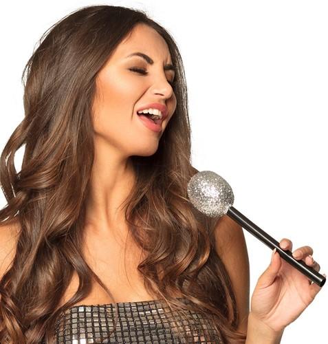 Microfoon Zilver