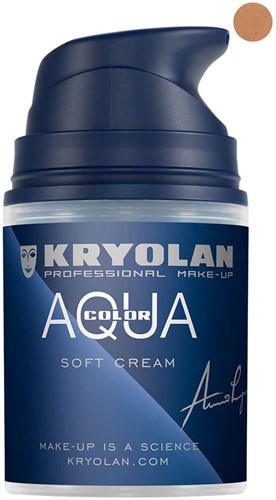 Aquacolor Softcream 50ml Kryolan 5W