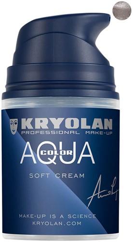Aquacolor Softcream 50ml Kryolan Silver