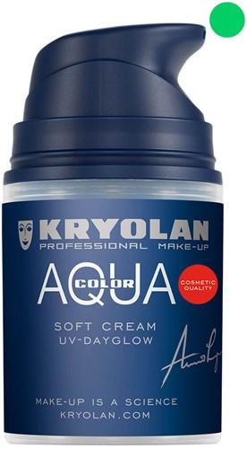 Aquacolor Softcream 50ml Kryolan UV-Groen