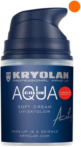Aquacolor Softcream 50ml Kryolan UV-Oranje