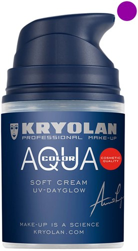 Aquacolor Softcream 50ml Kryolan UV-Paars