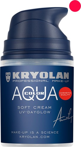 Aquacolor Softcream 50ml Kryolan UV-Rood