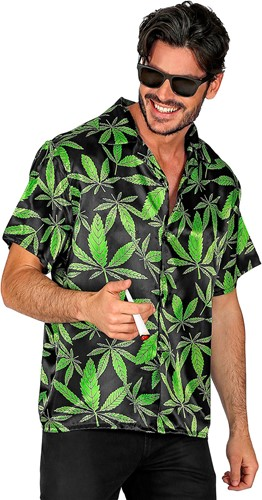 Reggae Blouse Cannabis voor heren