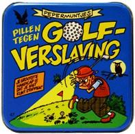 Pocket Tin Golfverslaafde