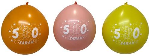Ballonnen 8st Sarah
