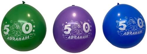 Ballonnen Abraham 8 stuks