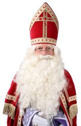 Baardstel Sinterklaas de Luxe
