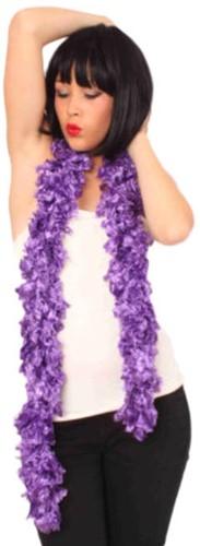 Boa Sjaal Paars 165cm