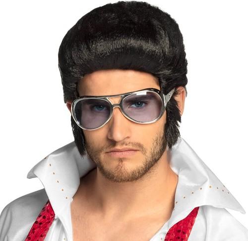 Bril Elvis Blauw