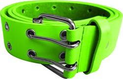 Herenriem Luxe Leder Neon Groen
