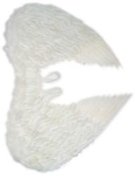 Engelenvleugels Wit met Veren Volwassen