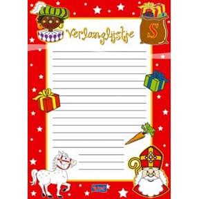 Verlanglijstje Sint+Piet Moder