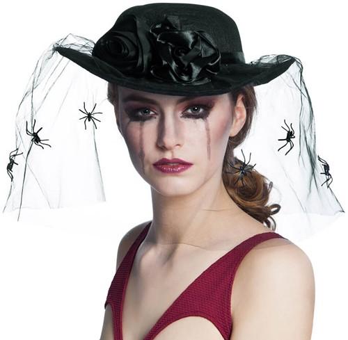 Hoed weduwe Spinnen