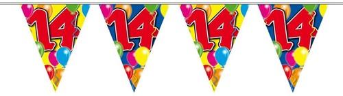 Vlaggenlijn 14 jaar 10mtr.