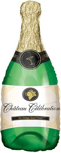 Folieballon XL Champagne Fles (91x35cm)