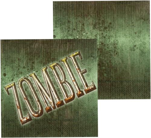 Servetten Zombie 12st.