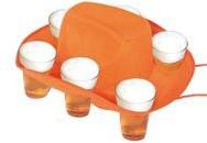 Hoed Bier Oranje