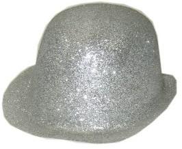 Bolhoed Glitter Zilver