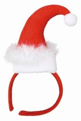 Diadeem Mini Kerstmuts