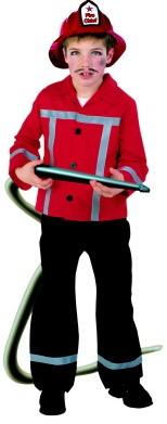 Kinderkostuum Brandweerman