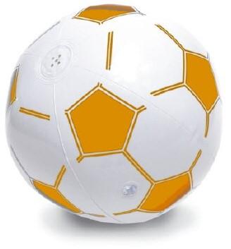 Opblaas Voetbal met Muziek
