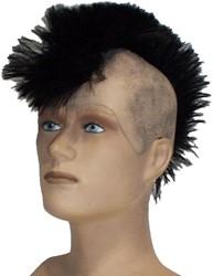 Kaalkop Punker Zwart