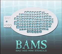 Bad Ass Schmink Stencil 1029