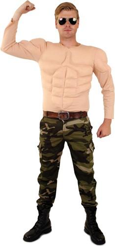 Bodybuilder Shirt - Spierbundel