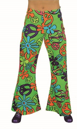 Hippiebroek Peace Dames