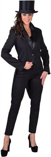 Dames Slipjas Cabaret Zwart