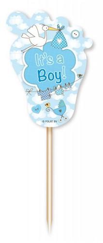 Prikkers Geboorte Jongen - It's a Boy 24st.
