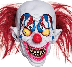Clownsmasker Creepy Halloween Clown