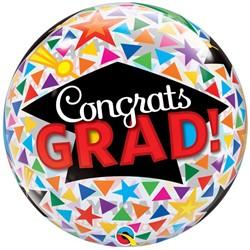 Bubble Ballon Geslaagd - Congrats Grad!