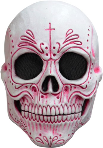Mexican Catrina Masker Latex Luxe(Day of the Dead)