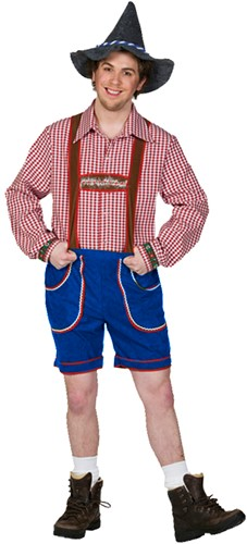 Tiroler Broek Kort Blauw