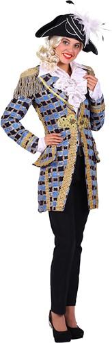 Carnavalsjas Soleil Turquoise voor dames-2