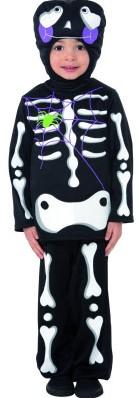 Kinderkostuum Schattig Skeletje