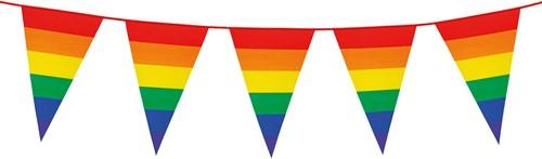 Vlaggenlijn Regenboog Rainbow (8m)