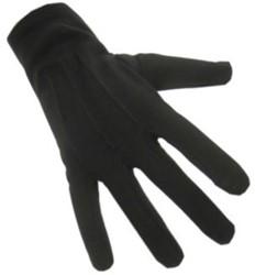 Handschoenen Katoen Zwart Luxe
