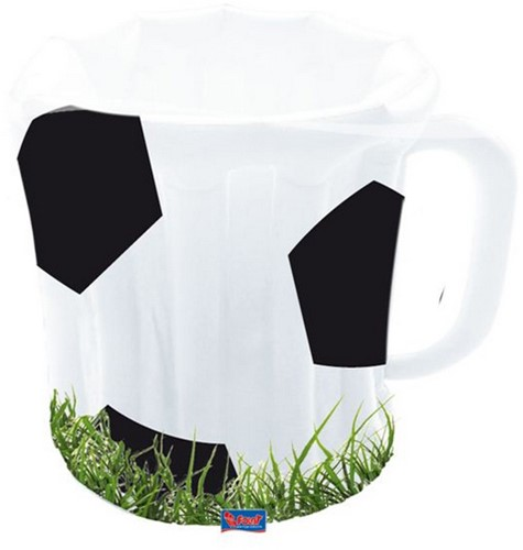 Cooler Bierpul Voetbalprint Opblaasbaar