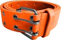 Herenriem Luxe Leder Oranje