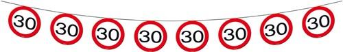Vlaggenlijn 30 jaar Verkeersbord