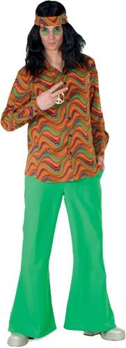 Hippie Blouse Orange Wave