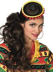Diadeem Mini Sombrero Zwart Luxe