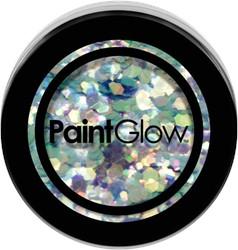 Paintglow Glitters Grof Licht Blauw 3gr.