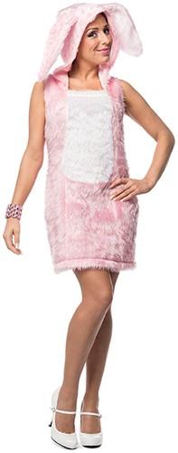 Dameskostuum Sexy Paashaasje Roze