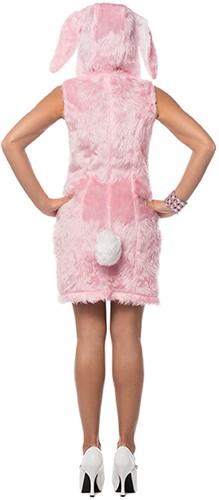 Dameskostuum Sexy Paashaasje Roze-2