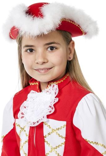 Dansmarietje Hoed Rood voor kinderen